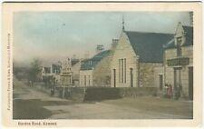More details for garden road, kemnay - aberdeenshire postcard (p2209)