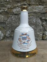 Vintage Wade Bells Scotch Whisky Decanter 50cl - Prince William's Birth 21.6.82