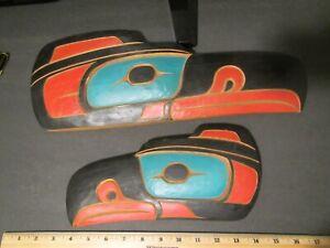 "Pacific Northwest Coast Native Art by Paul Auger ""RAVEN"" Kwakwaka'wakw Cedar"
