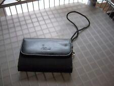 Men's Black Wristlet Wallet Phone Case Belt Clip NOS