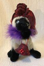 Plush Aurora Ms. High Society Cat Item 02311