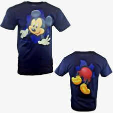 MICKEY MOUSE Tee shirt Size Small DISNEY DREAMS FLORIDA Navy Blue Tee NEW