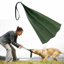 Young Dogs Bite Training Rag Chew Biting Tug with Handle for K9 German Shepherd