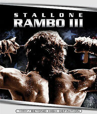 Rambo III Blu-ray New Sealed