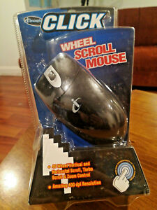 NEW ICONCEPTS MOUSE 4D WHEEL Vertical Horizontal Scroll Zoom Control