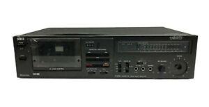 piastra registratore cassetta stereo vintage deck zanussi elettronica seleco