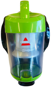 Bissell Zing Bagless 2156A Green Canister And Filter Only Tested Works