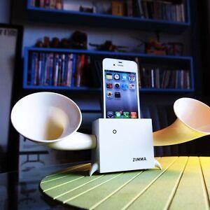 Wooden Phone Holder Sound Speaker for PhoneSE/5c/5s/5/4s/4/iPodTouch5 - WW