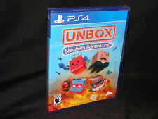 Unbox Newbie's Adventure Sony Ps4 PlayStation 4 Brand New Sealed