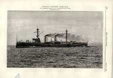 1889 Italian Cruiser Piemonte Armstrong Mitchell Newcastle  Pretzien