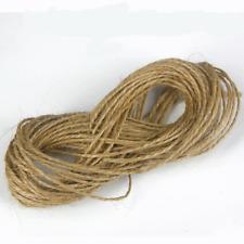 cordeles de yute natural Cable x 10m Regalo Navidad Etiqueta Cuerda Envejecido