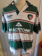 Leicester Tigers 2008 Home Rugby Union Shirt short sleeve adult medium (20443)