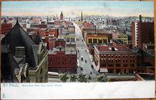 1905 Raphael Tuck Postcard: 'Bird's Eye View - St. Paul, Minnesota MN'