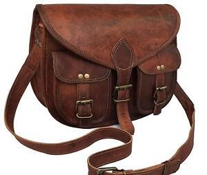 Leather Messenger Bag Women Purse Satchel Handbag Crossbody Shoulder Sling Bag