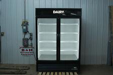 True Gdm 49 Hc Glass 2 Door Merchandiser Reach In Cooler Refrigerator 2020 Model