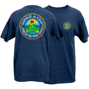 Peace Frogs Adult Life's A Trip Frog Short Sleeve T-shirt