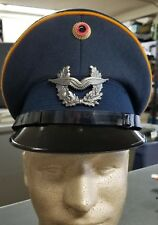Genuine German military visor cap.  Size 59 (about American size 7 3/8)