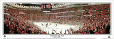 Chicago Blackhawks Stanley Cup 2015 Game 6 3rd Period Panoramic Poster Print