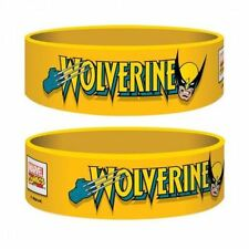 Official X-Men Wolverine - Yellow Rubber Gummy Wristband