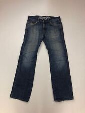 WRANGLER CLYDE STRAIGHT Jeans - W31 L32 - Faded Navy - Great Condition - Mens