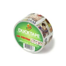 "Duck Brand One Direction Print Duct Tape 1.88"" by 10 yds Duck Tape 1D Global New"