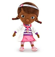 """Disney Store Authentic Doc McStuffins Doctor Plush Toy Doll 12"""" H Girls Gift"""