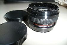 Wide angle & telephoto lens VIVITAR 0.6X-1.5X + caps 46mm fix  J34