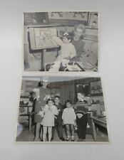 TWO VERY NICE ORIGINAL VINTAGE ROMPER ROOM PHOTOS - TV SHOW - FAST SHIPPING