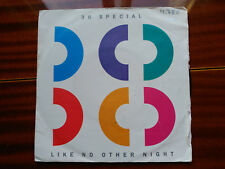 SINGLE 38 SPECIAL - LIKE NO OTHER NIGHT - A&M SPAIN 1986 VG/VG+