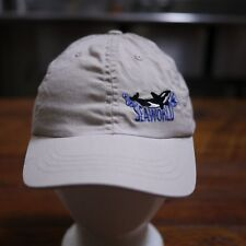 SEA WORLD Youth Kids Embroidered Killer Whale BlackFish Baseball Cap Hat