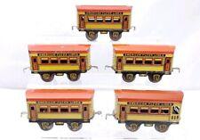 American Flyer Prewar Passenger Car Train Set 4 515 1 513 O Scale