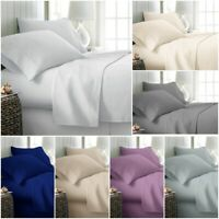 LUXURY 100% POLY COTTON FLAT SHEET BED COVER SINGLE DOUBLE KING SUPER KING SIZE