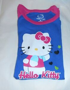 Hello Kitty by Sanrio Junior Varsity Graphic Sleep Tee Fuchsia Medium (M) NWT