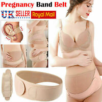 Pregnancy Maternity Support Belt Back Bump Belly Band Waist Lumbar Postpartum UK