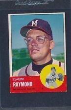 1963 Topps #519 Claude Raymond Braves EX/MT 63T519-90416-3