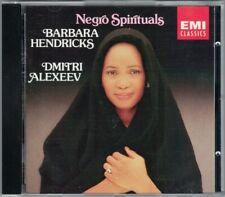 Barbara HENDRICKS: NEGRO SPIRITUALS Dmitri Alexeev CD Swing Low Sweet Chariot