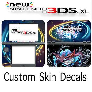 Custom Final Fantasy Explorers Skin Decal Sticker Cover For New Nintendo 3DS XL