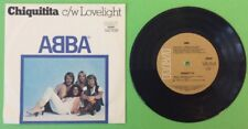 "ABBA Chiquitita 7"" Single 45rpm Aus Press RCA (103297) Pic Sleeve 1979 VG+"