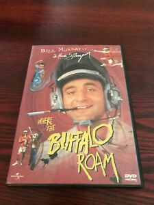 Bill Murray - Where the Buffalo Roam - DVD - 1999