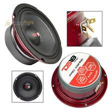 "DS18 PRO-X6MSE 6.5"" Midrange Speaker Slim 450 Watt Max Mid Loudspeaker Car Audio"