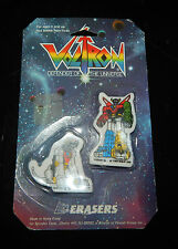 "1984 Vintage LJN ""Voltron"" Pair of Erasers MOC"