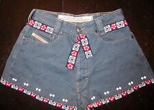 Diesel Denim Jeans Shorts Hotpants Hose Hot Pants Wiesn Oktoberfest W28 S 36 38