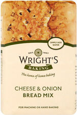 WRIGHTS CHEESE & ONION BREAD MIX 3 x 500G
