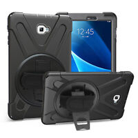 Shockproof Heavy Duty Armor Case Cover Stand For Samsung Galaxy Tab A 10.1 P580