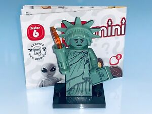 LEGO STATUE OF LIBERTY FROM THE COLLECTABLE MINIFIG SERIES 6 - NEW