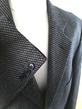 PIERRE BALMAIN Houndstooth DOGTOOTH CHECK SILK & WOOL BLAZER JACKET 40R
