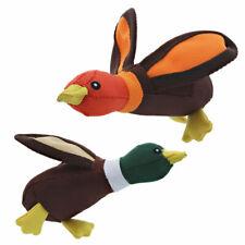 "Ballistic Dog Toys Tough Nylon Duck Fetch Squeakers Choose Bird Character 6"""