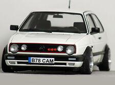 "1:18 ""MK2 VOLKSWAGEN GOLF G60 GTi"" (White) BBS ALU MODIFIED TUNING UMBAU VW 16v"