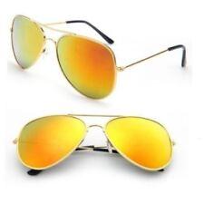 Gafas de sol de hombre aviadores multicolores, Protección 100% UV400