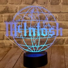mcintosh led sign with remote control